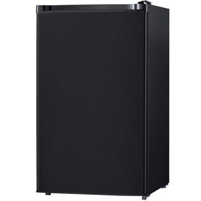 4.4 Cu. Ft. Compact Single Reversible Door Refrigerator in Black - WHS-160RB1