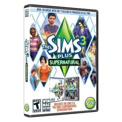 Sims 3 Plus Supernatural PC