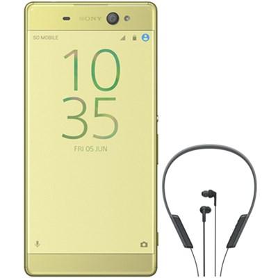 Xperia XA Ultra 16GB 6-inch Smartphone Unlocked Lime Gold BONUS NFC Headset