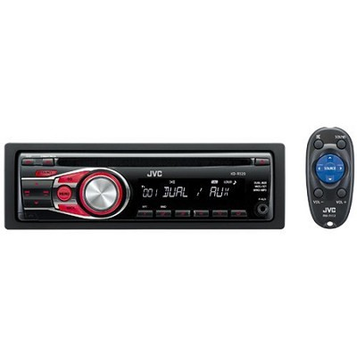 CD Receiver with Dual AUX