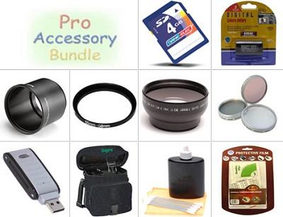 Platinum Accessory Kit For Kodak Z612, Z712, Z812 & Z1012