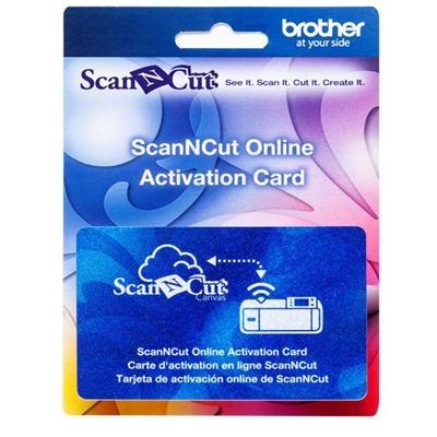 ScanNCut Online Activation Card - CAWLCARD1