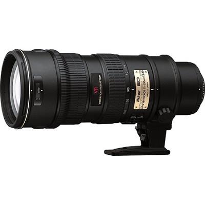70-200mm F/2.8 G ED-IF AF-S VR Zoom Nikkor Lens - Factory Refurbished