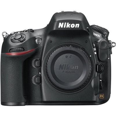 D800 36.3 MP CMOS FX-Format Digital SLR Camera (Body Only) Factory Refurbished