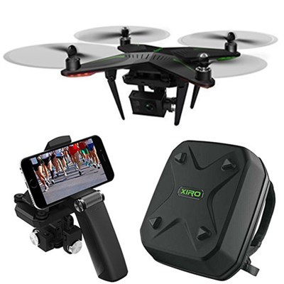 Xplorer G Quadcopter Aerial Drone w/ 3-Axis Gimbal for GoPro Bundle