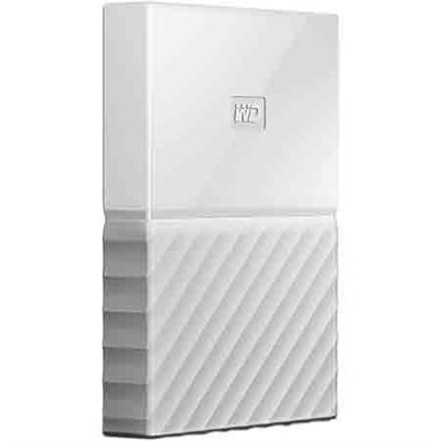 WD 4TB My Passport Portable Hard Drive - White - OPEN BOX