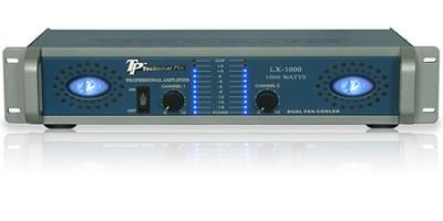 Pro Amplifier 1000 Watts (Blue/Silver)