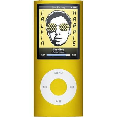 iPod Nano 4th Generation 16GB MP3 Player - Yellow