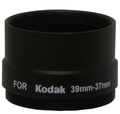 Lens Barrel Adapter F/ Kodak DX7440 and Z730 - 37mm