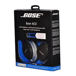 AE2i Over-Ear Audio Headphones with Inline Remote/Mic - OPEN BOX