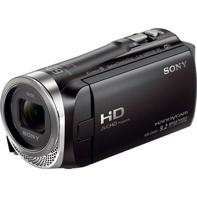 HDR-CX455/B Full HD Handycam Camcorder with Exmor R CMOS Sensor - OPEN BOX
