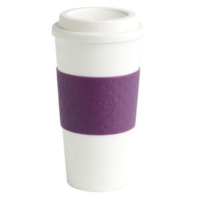 16-Ounce Capacity Acadia Reusable To Go Mug, Plum 2510-9965