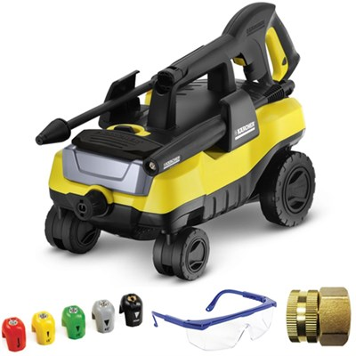 K 3.000 Follow Me Electric Pressure Washer Deluxe Accessory Bundle