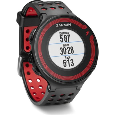 Forerunner 220 GPS Fitness Watch (Black/Red) Manufacturer Refurbished
