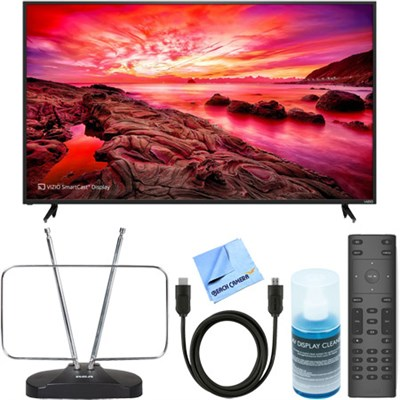 E80-E3 E-Series 80` LED SmartCast UltraHDTV + HDTV Antenna & TV Accessory Bundle