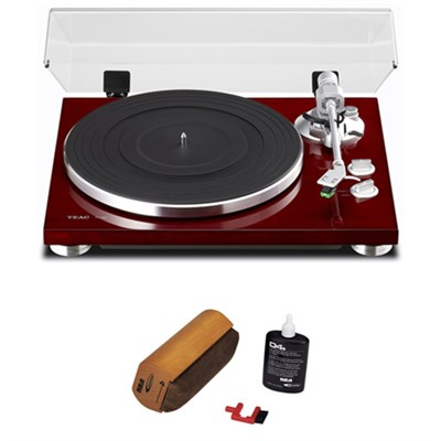 2-Speed Analog Turntable 14-TN-300 with Cleaning Bundle