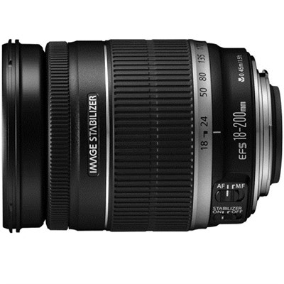 EF-S 18-200mm F/3.5-5.6 Image Stabilizer Lens, CANON AUTHORIZED USA DEALER