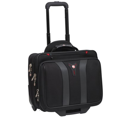 Swissgear Granada Rolling Case Blk Nylon Fits Up To 17IN Notebooks - OPEN BOX