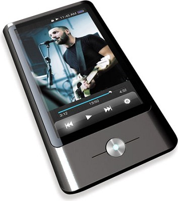 MP3 Video Player with 3` Display, 8 GB Flash Memory, FM &Touch Screen Control