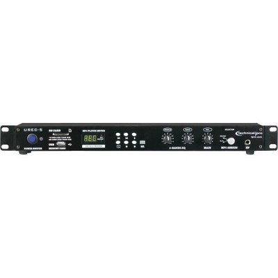 U-REC5 Professional Rack Mountable USB/SD Recording Deck