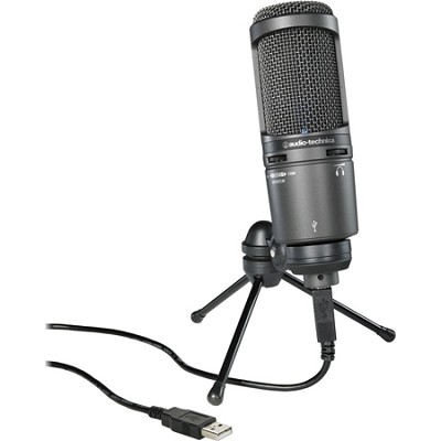 AT2020USB PLUS Deluxe USB Cardioid Condenser Microphone