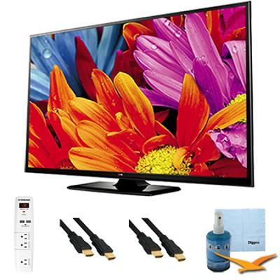 50-Inch Plasma 720p 600Hz HDTV Value Bundle - 50PB560B