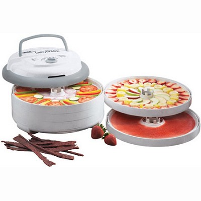 Snackmaster 5 Tray Pro Food Dehydrator 600-Watt (FD-75PR)