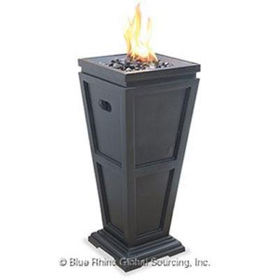 UF LP Gas Column Firepit Med