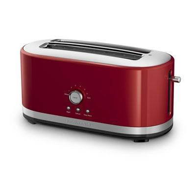 4-Slice Long Slot Toaster with High Lift Lever in Empire Red - KMT4116ER