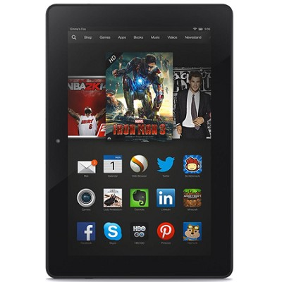 Kindle Fire HDX 8.9` Tablet HDX Display, Wi-Fi, 16 GB - Includes Special Offers