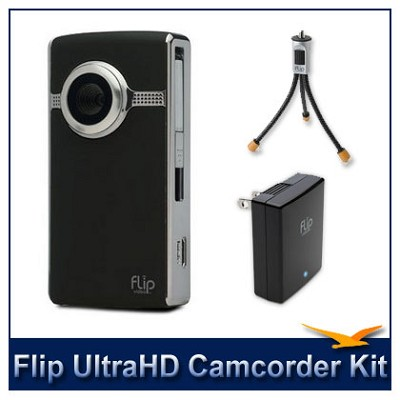 Ultra HD Camcorder Accessory Bundle (Black)