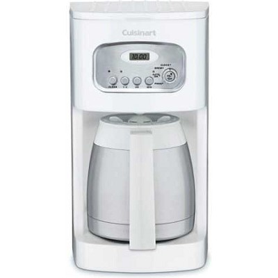 Brew Central 10-Cup Programmable Thermal Coffeemaker White