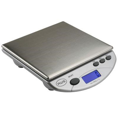 Digital Postal Kitchen Scale in Silver - AMW13-SL