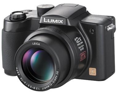 Lumix DMC-FZ5K Digital Camera (Black) - OPEN BOX