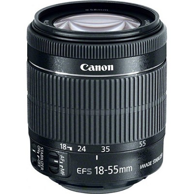 EF-S 18-55mm f/3.5-5.6 IS STM Lens WHITE BOX with USA warranty