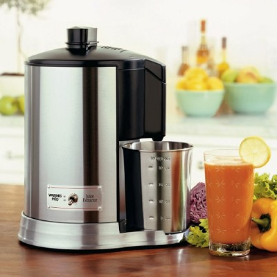 Brushed Stainless Steel /Pro Health Juice Extractor - Factory Refurbished