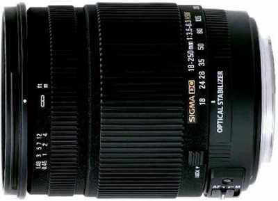 18-250mm F3.5-6.3 DC OS HSM Lens for Sony/ Minolta Macro with Optical Stabilizer