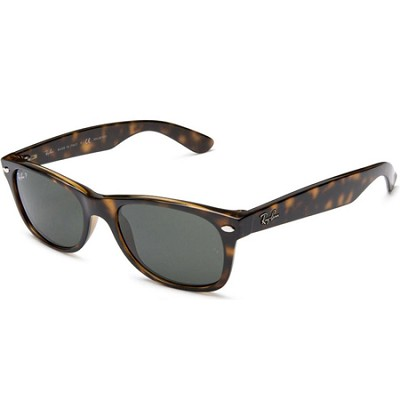 Wayfarer  55MM Polarized Sunglasses - Tortoise