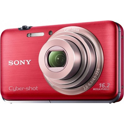 Cyber-shot DSC-WX9 Red Digital Camera