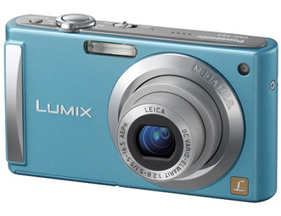 DMC-FS3A (Blue) 8 Megapixel Digital Camera w/ 2.5-inch LCD & 4x Optical Zoom