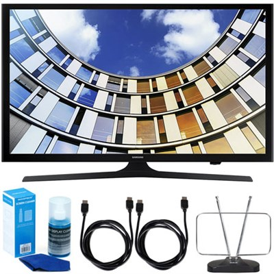 UN40M5300AFXZA 40` LED 1080p 5 Series Smart TV (2017 Model) w/ Accessory Bundle