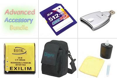 Bargain Accessory Kit for Casio EX-P600 / EX-P700