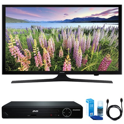 48-Inch Full HD 1080p Smart LED HDTV w/ HDMI DVD Player Bundle