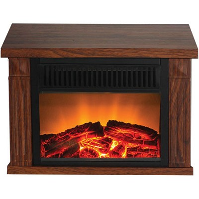 TZRF-10344 Zurich Tabletop Retro Electric Fireplace, Medium