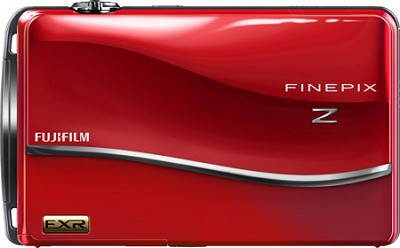 FinePix Z800EXR 12 MP 3.5 inch Touch Screen LCD Digital Camera - Red