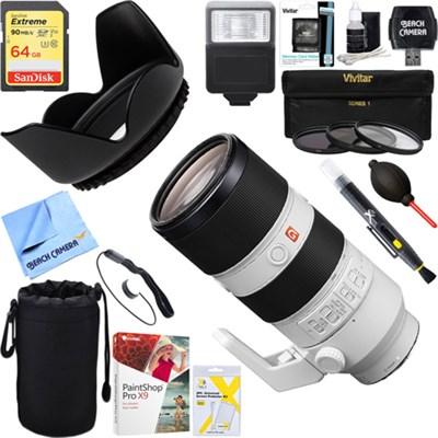 FE 70-200mm F2.8GM OSS E-Mount Lens + 64GB Ultimate Kit
