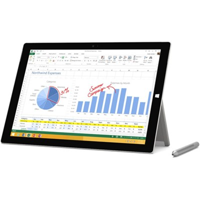 Surface Pro 3 intel Core i5-4300U 128GB 12 Inch Tablet Computer