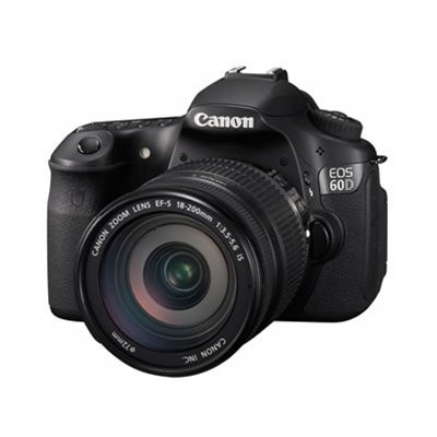 EOS 60D 18 MP CMOS Digital SLR Camera w/ 3.0-Inch LCD and EF-S 18-200mm IS Lens