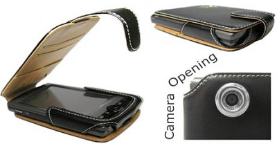 Slim Leather case for HP iPaq 3100/3700 Series