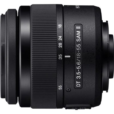 SAL18552 DT 18-55mm f/3.5-5.6 Zoom Lens - OPEN BOX
